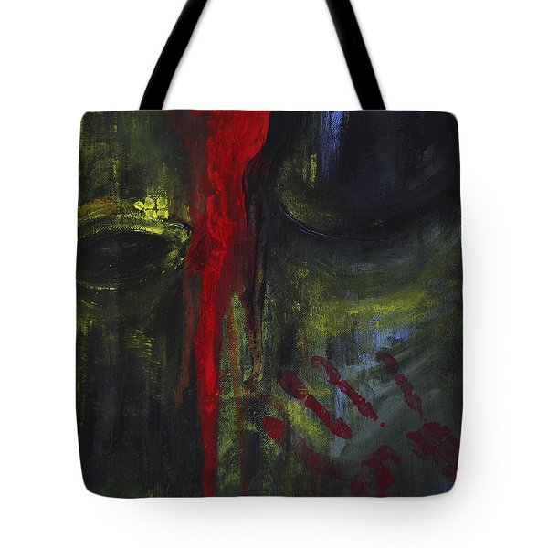 Extinction  Tragedy Of The Elephant Tote Bag