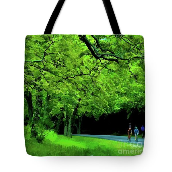 Faire Du Velo Tote Bag