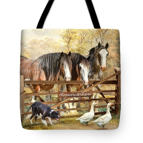 Featherwell Farm Tote Bag