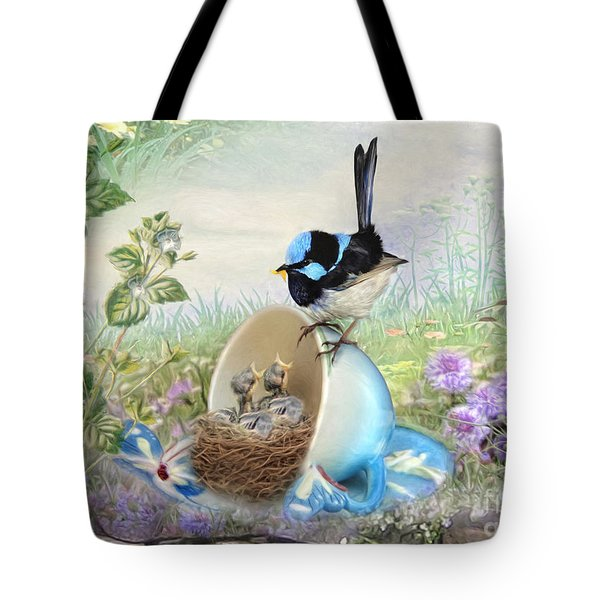 Feed Time Tote Bag