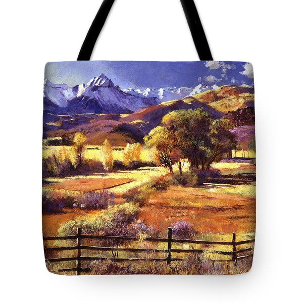 Foothills Ranch Tote Bag