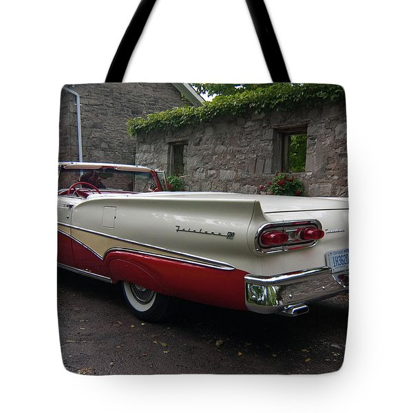 Ford Fairlane  Tote Bag by Guy Whiteley