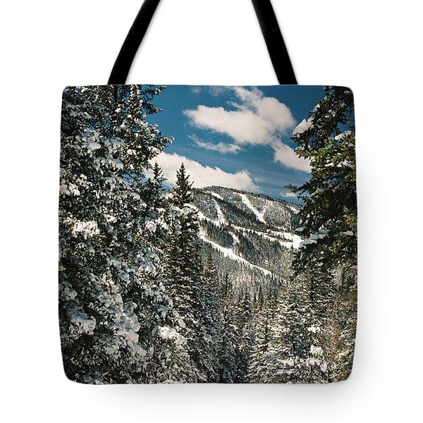 Fresh Powder Tote Bag