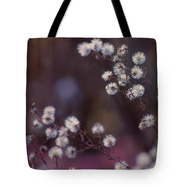 Fuzzy Fall  Tote Bag by Bulik Elena