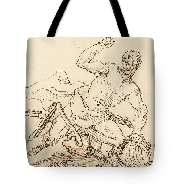 George Taylor's Epitaph - George Taylor Breaking The Ribs Of Death  Tote Bag