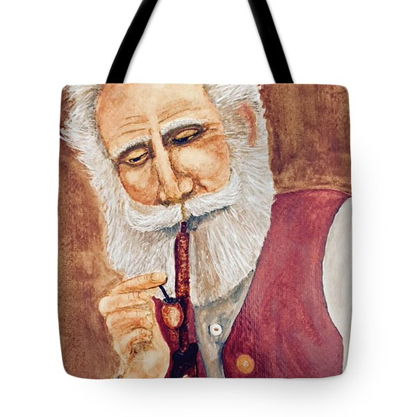 German With Pipe No. 2 Tote Bag