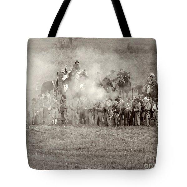 Gettysburg Confederate Infantry 7503s Tote Bag
