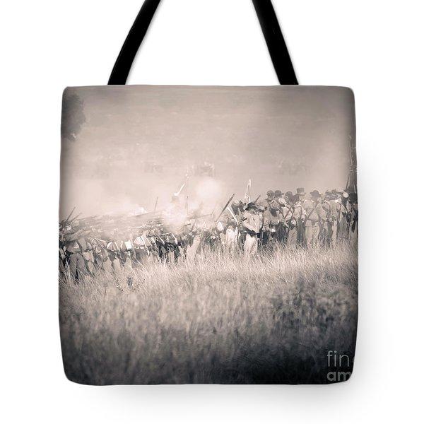 Gettysburg Confederate Infantry 9112s Tote Bag