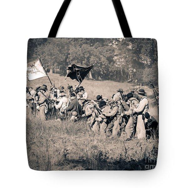 Gettysburg Confederate Infantry 9281s Tote Bag