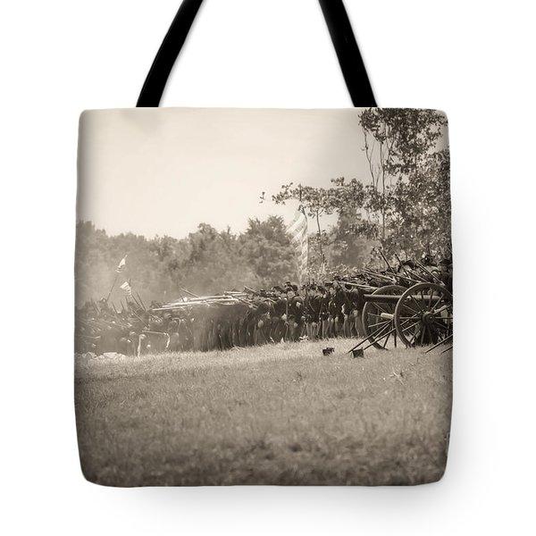 Gettysburg Union Infantry 9968s Tote Bag