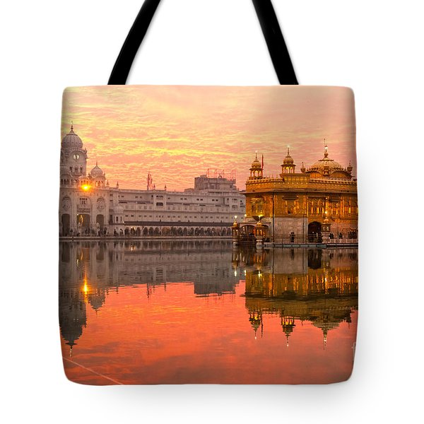 Golden Temple Tote Bag