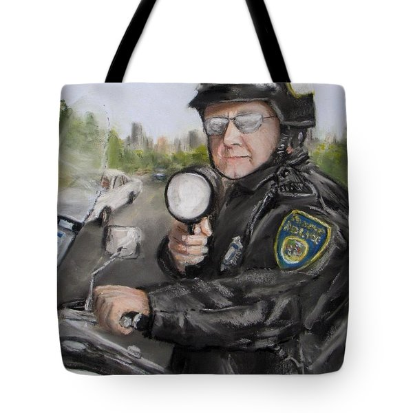 Gotcha Tote Bag by Jack Skinner