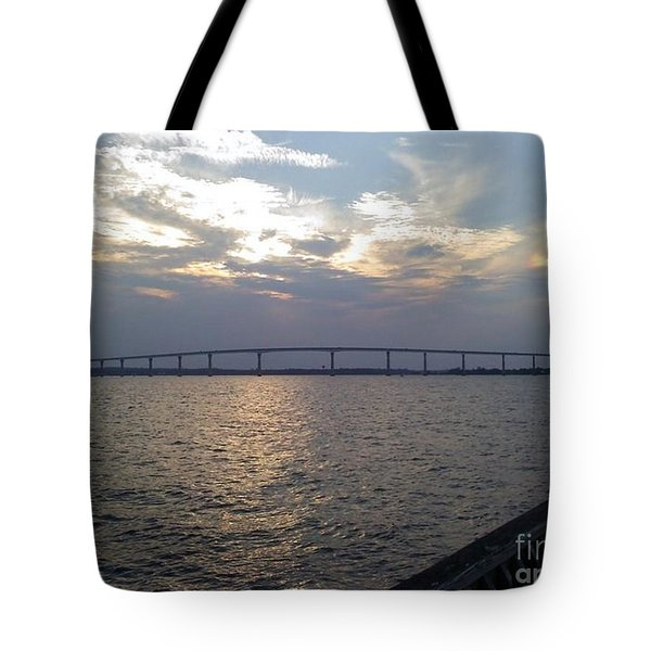 Gov Thomas Johnson Bridge Tote Bag