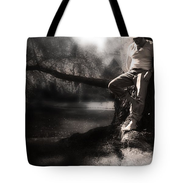 Tote Bag featuring the photograph ... by Gray  Artus