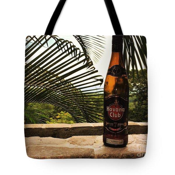 Havana Club Tote Bag by Pamela Blizzard