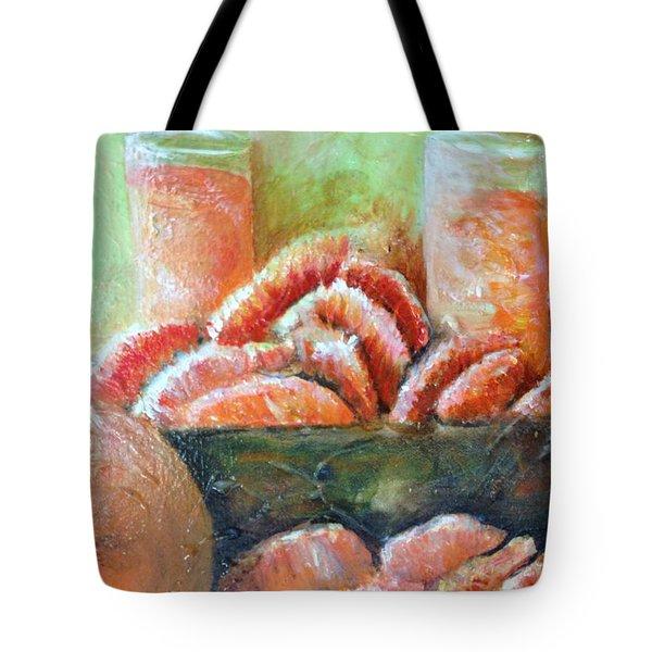 Mandarin Oranges  Tote Bag