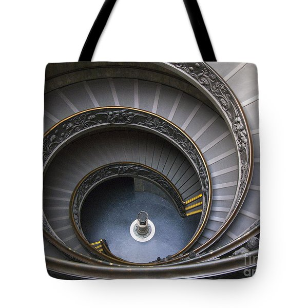 Heart Of The Vatican Museum Tote Bag by Sandra Bronstein