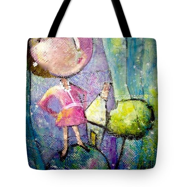 Her Own World Tote Bag