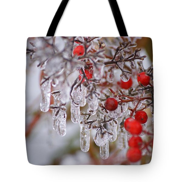Holiday Ice Tote Bag