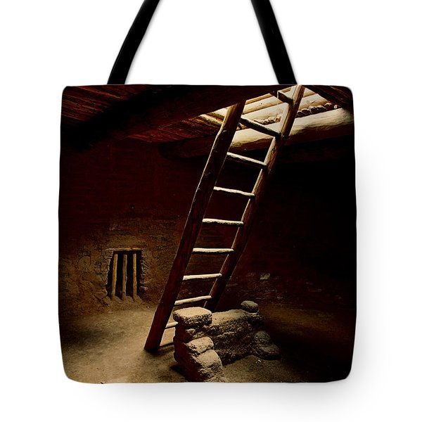 House Of Reflection And Prayer Tote Bag