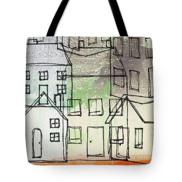Houses By The River Tote Bag