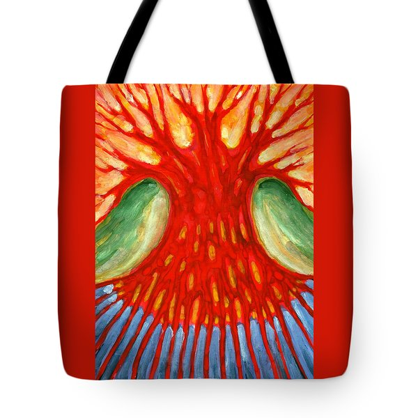 I Burn For You Tote Bag by Wojtek Kowalski