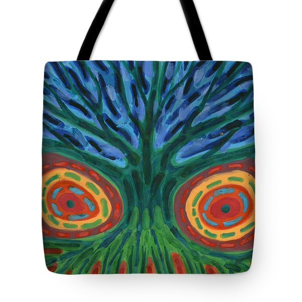 I See You Tote Bag by Wojtek Kowalski
