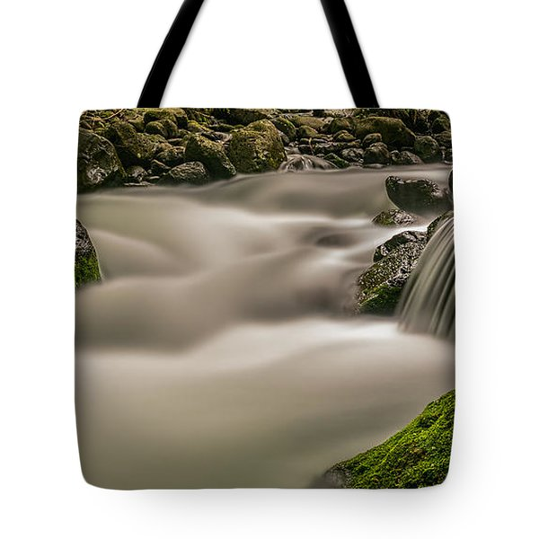Iao Stream In The Iao Valley State Park Tote Bag