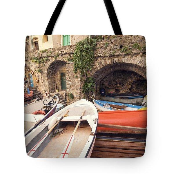 Il Porto Barca Tote Bag