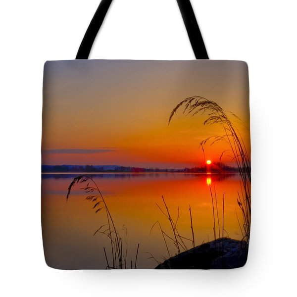 In The Morning At 4.04 Tote Bag