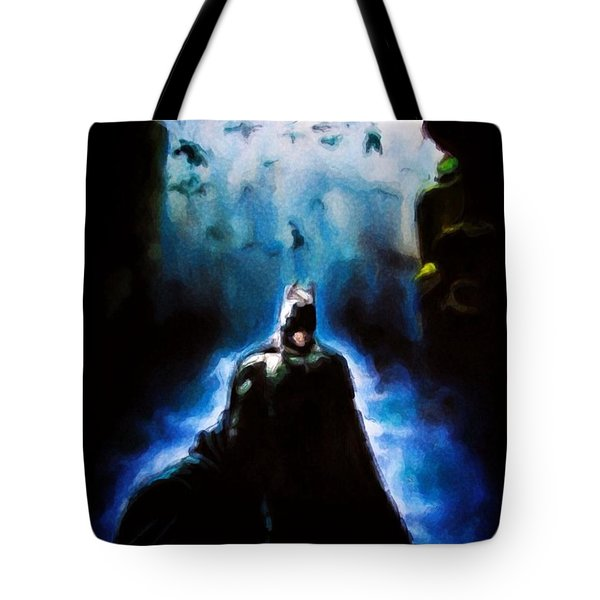 Into The Cave Tote Bag