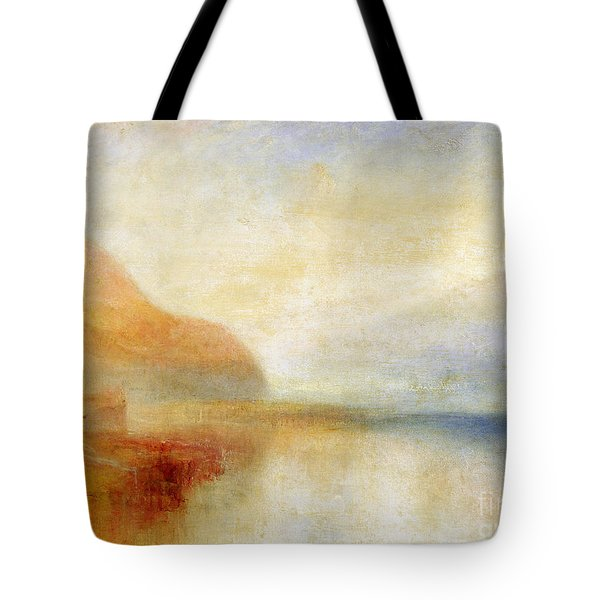 Inverary Pier - Loch Fyne - Morning Tote Bag by Joseph Mallord William Turner