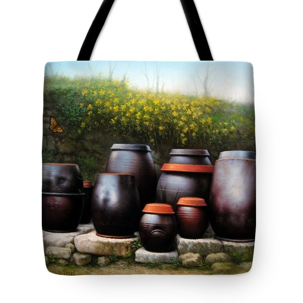 Jars Of Korea Tote Bag