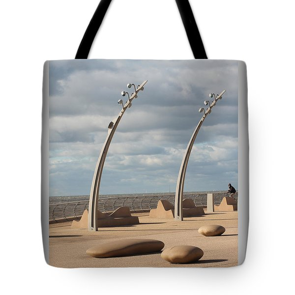 Just Waiting Tote Bag
