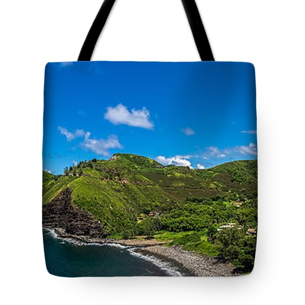 Kahakuloa Head Maui Hawaii Tote Bag
