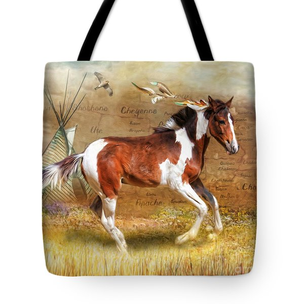 Little Apache Tote Bag