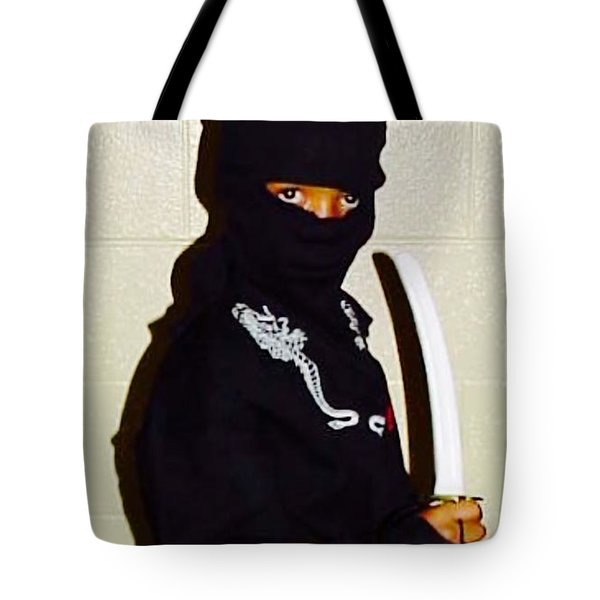 Little Ninja - No.1998 Tote Bag