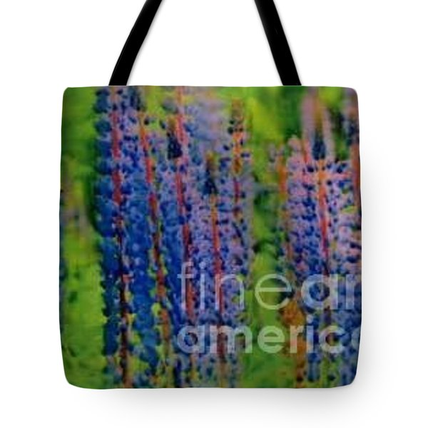 Lois Love Of Lupine Tote Bag