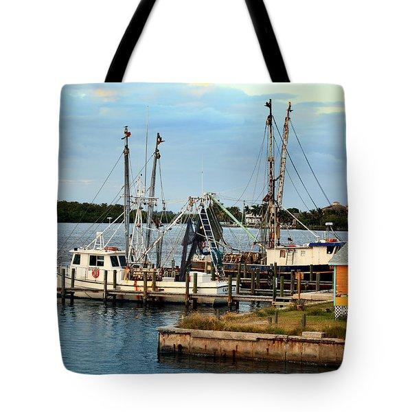 Matlacha Florida Tote Bag