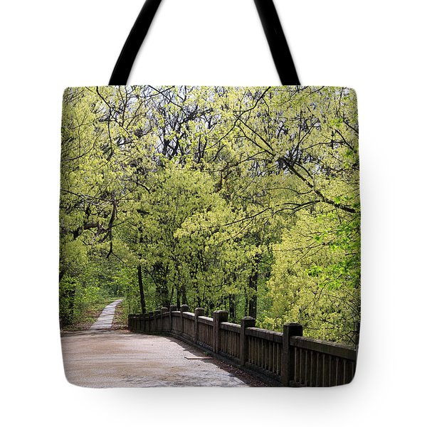 Matthiessen State Park In Spring Tote Bag
