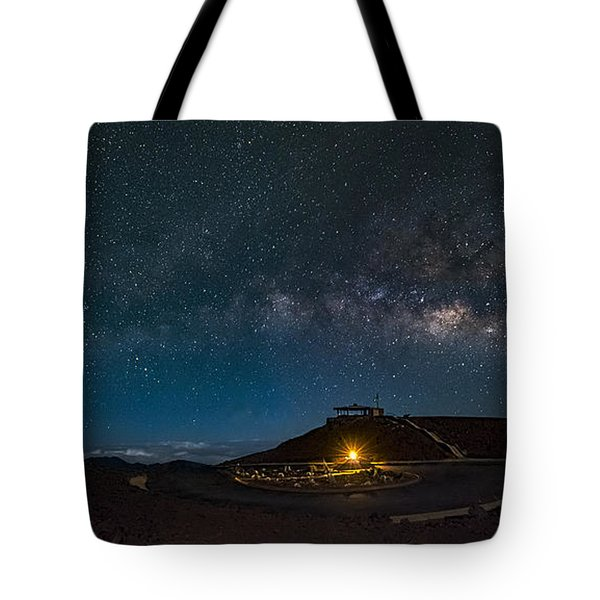 Milky Way Over Haleakala Tote Bag