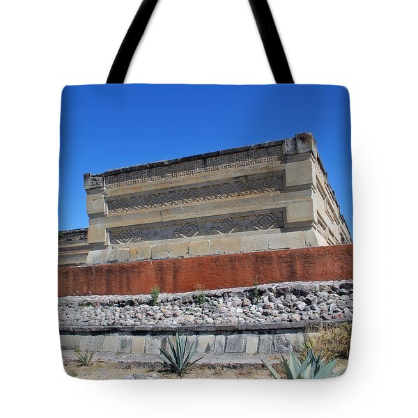 @ Mitla Oaxaca Mexico Tote Bag