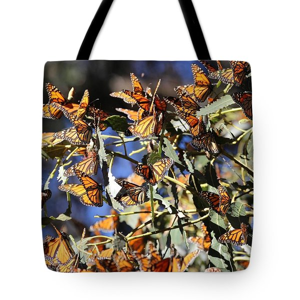 Monarch Cluster Tote Bag