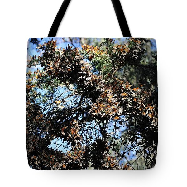 Monarch Large Cluster Tote Bag
