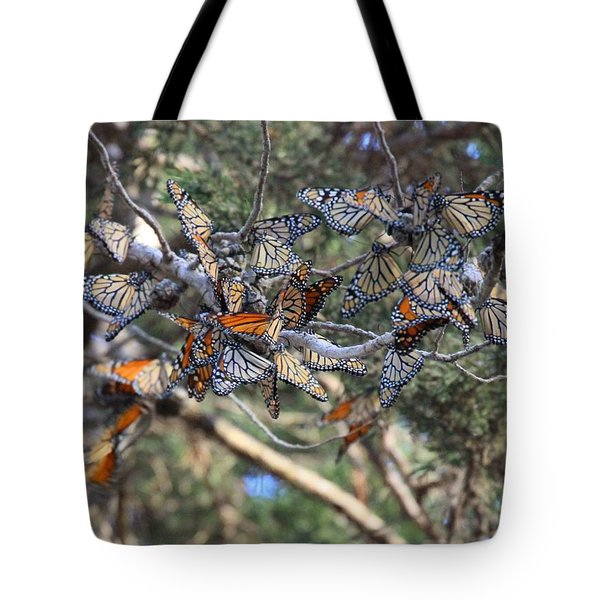 Monarch Mixed Cluster Tote Bag