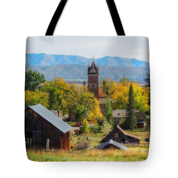 Montpelier Tote Bag by Charlotte Schafer