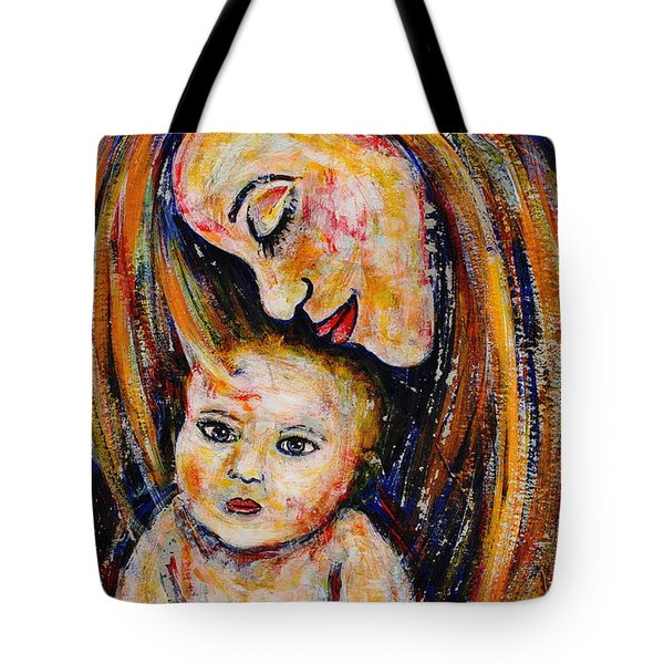 Mother's Love Tote Bag by Natalie Holland