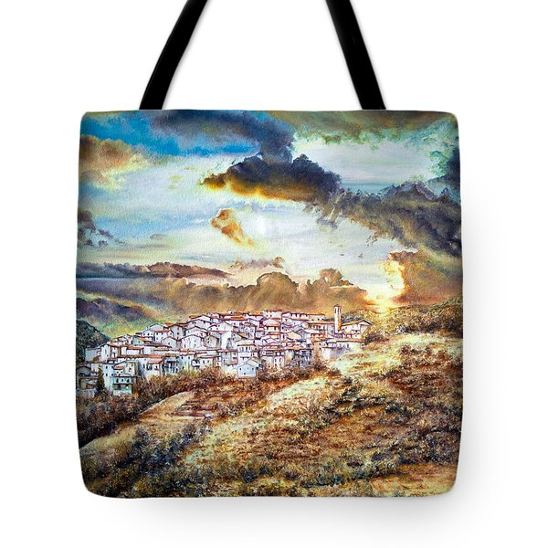 Moving Clouds Tote Bag