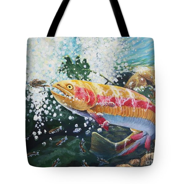 Not Your Average Goldfish Tote Bag