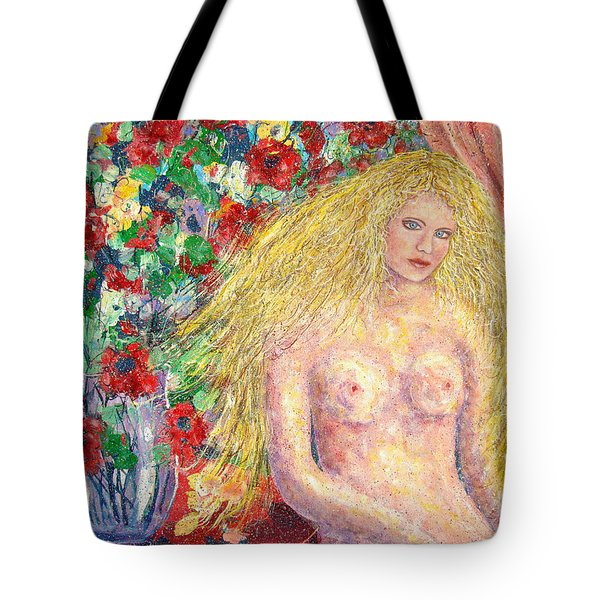 Nude Fantasy Tote Bag by Natalie Holland